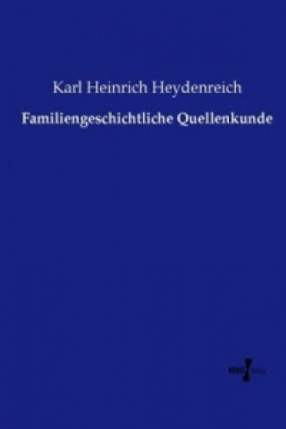Familiengeschichtliche Quellenkunde