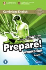 Cambridge English Prepare! Level 7 Workbook with Audio