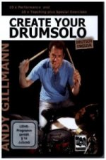 Create your Drumsolo, 1 DVD, deutsche u. englische Version