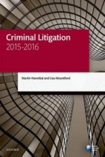 Criminal Litigation 2015-2016