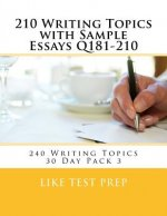 210 Writing Topics with Sample Essays Q181-210