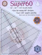 Clearview Triangle Super 30 - 60 - 120 Acrylic Ruler