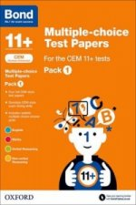 Bond 11+: Multiple-Choice Test Papers for the CEM 11+ Tests