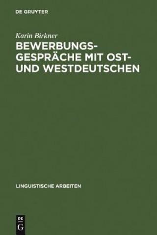 Bewerbungsgesprache Mit Ost- Und Westdeutschen