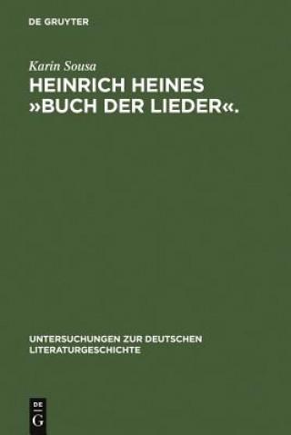 Heinrich Heines buch Der Lieder.