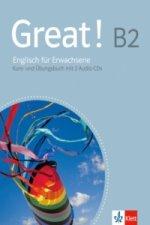 Great! B2 - Kurs- und Arbeitsbuch, m. 2 Audio-CDs