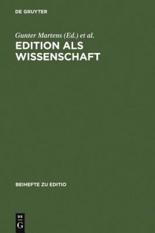Edition ALS Wissenschaft
