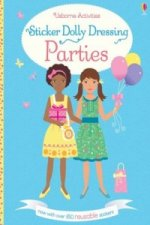 Sticker Dolly Dressing Parties