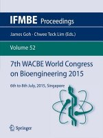 7th WACBE World Congress on Bioengineering 2015