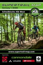 Supertrail Map Schwäbische Alb West
