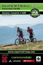 Supertrail Map Ascona / Locarno e Valli