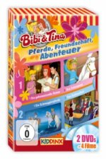 Bibi & Tina - Pferde, Freundschaft, Abenteuer, 2 DVDs