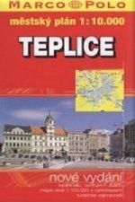 Teplice-mapa