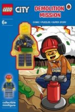 LEGO City: Demolition Mission Activity Book with Minifigure