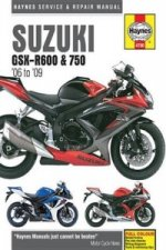 Suzuki GSX-R600 & 750 Motorcycle Repair Manual
