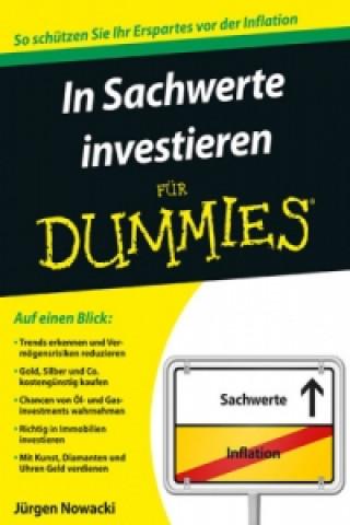 In Sachwerte investieren fur Dummies