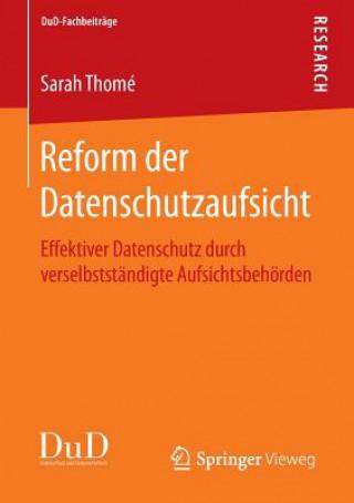 Reform Der Datenschutzaufsicht