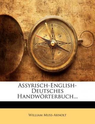 Assyrisch-English-Deutsches Handwörterbuch Band II