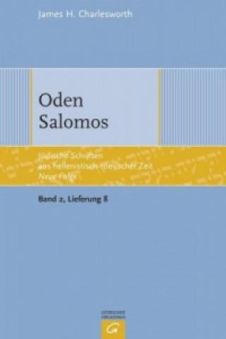 Weisheitliche, magische und legendarische Erzählungen, Oden Salomos