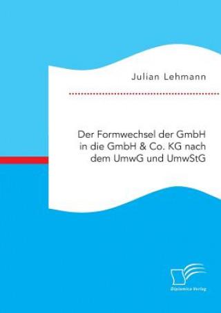 Formwechsel Der Gmbh in Die Gmbh & Co. Kg Nach Dem Umwg Und Umwstg