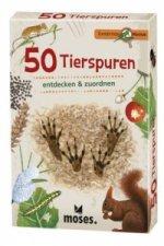 50 Tierspuren entdecken & zuordnen, 50 Ktn.