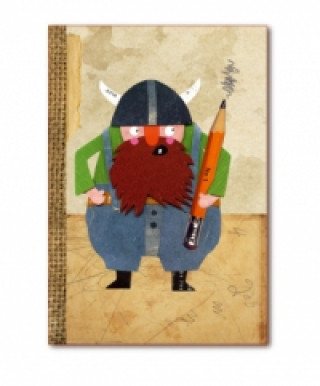 Bleistift-Wikinger