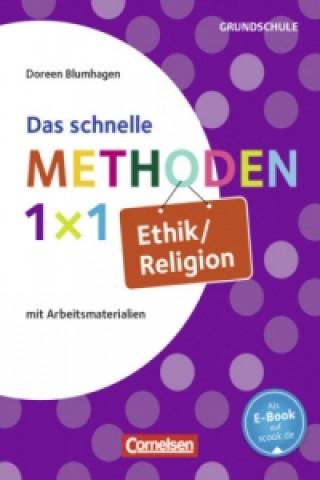 Das schnelle Methoden 1x1 Ethik/Religion