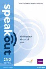 Speakout Intermediate 2nd Edition Workbook with Key