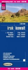 Reise Know-How Landkarte Irak, Kuwait (1:850.000)