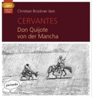 Don Quijote von der Mancha, 4 MP3-CDs