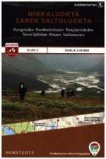 Outdoorkartan Schweden - Nikkaluokta, Sarek, Saltoluokta