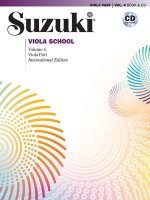 Suzuki Viola School, m. 1 Audio-CD. Vol.4