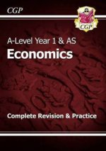 A-Level Economics: Year 1 & AS Complete Revision & Practice