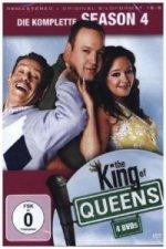 The King of Queens. Staffel.4, 4 DVDs