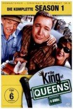 The King of Queens. Staffel.1, 4 DVDs