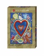 Hearts of Gold (Puzzle), Red & Blue