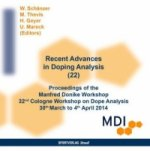 Recent Advances in Doping Analysis, CD-ROM