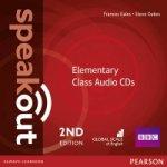 Speakout Elementary 2nd Edition Class CDs (3)