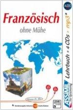 Assimil Französisch ohne Mühe, Lehrbuch + 4 Audio-CDs + 1 mp3-CD