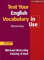 Test Your English Vocabulary in Use (with answers), Elementary