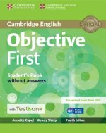Objective First Student's Book Without Answers with CD-ROM w