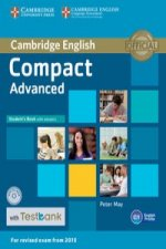 Compact Advanced Student's Book with Answers with CD-ROM wit