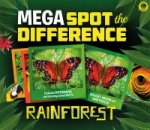 Mega Spot the Difference: Rainforest