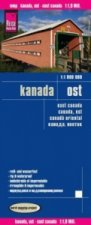 World Mapping Project Reise Know-How Landkarte Kanada Ost (1:1.900.000). East Canada / Canada, est / Canadá oriental
