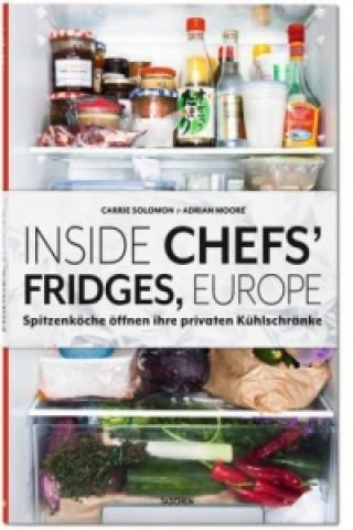Inside Chefs Fridges, Europe