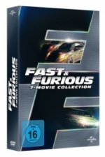 Fast & Furious - 7 Movie Collection, 7 DVDs