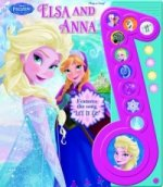 Frozen Elsa & Anna - Deluxe Music Note Songbook