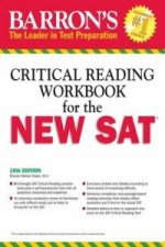 Barron's Critical Reading Workbook for the New SAT, 15th Edition