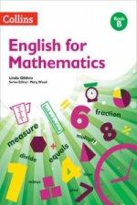 English for Mathematics: Book B