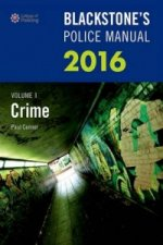 Blackstone's Police Manual: Crime 2016